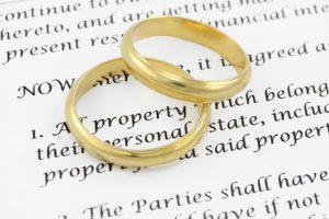 Plaintiff when filing for divorce